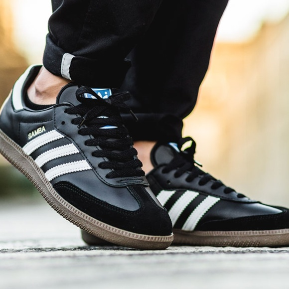 outlet store a7ba7 289cb adidas Other - adidas Samba Classic Black Gum Edition